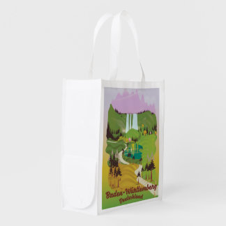 Baden-Württemberg deutschland Reusable Grocery Bag