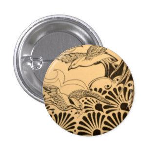 Badge: Boho. 1 Inch Round Button
