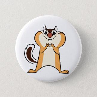 badge chipmunk 2 inch round button