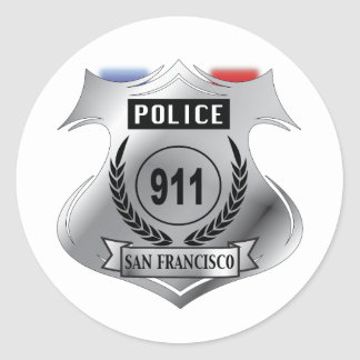 Badge Classic Round Sticker