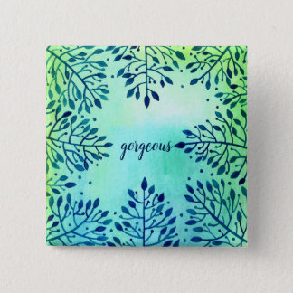 badge  for you,gorgeous 2 inch square button