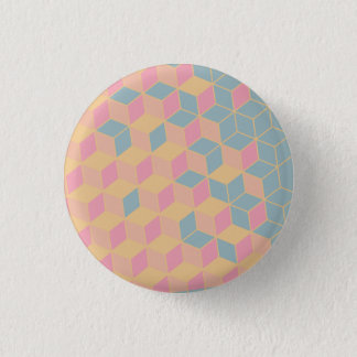 badge geometric shape 1 inch round button