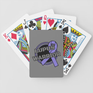 Badge...Lupus Bicycle Playing Cards