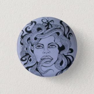 Badge: Magic, medicine, healing. 1 Inch Round Button