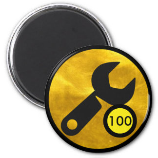 Badge Magnet - 100 Wrench