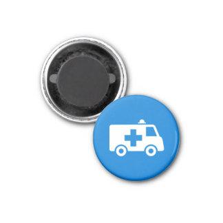 Badge Magnet - Ambulance