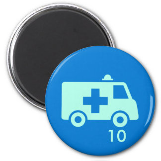 Badge Magnet - Ambulance 10
