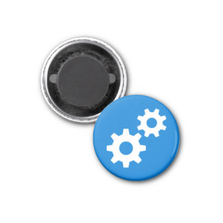 Badge Magnet - Gears
