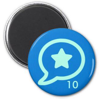Badge Magnet - Praise 10