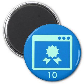 Badge Magnet - Quality 10
