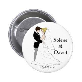 Badge mariage cadeau jour J