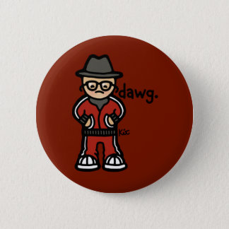badge of badness. 2 inch round button