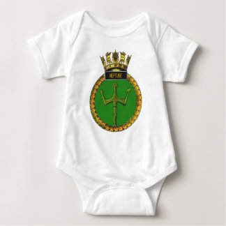 Badge of HMS Neptune Baby Bodysuit