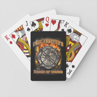 Badge Of Honor Playing Cards