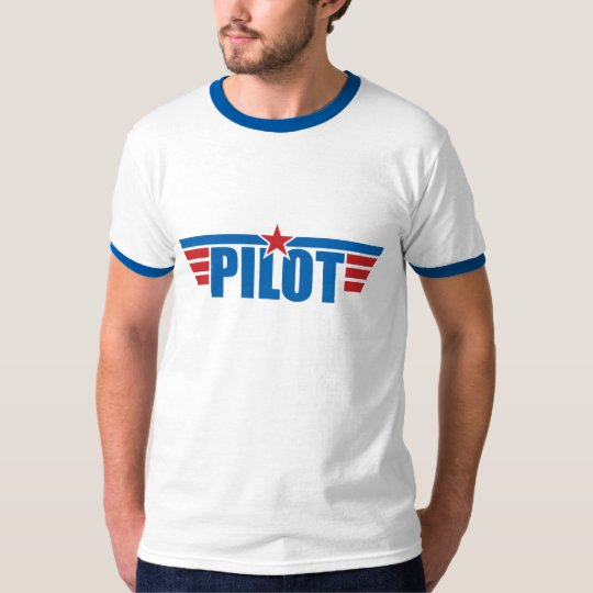 Badge Pilot T-Shirt