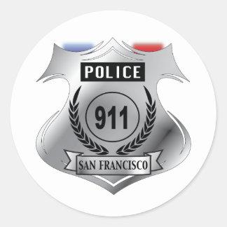 Badge Round Sticker
