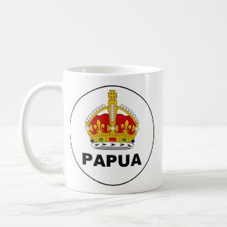 Badge the Territory Papua, Papua New Guinea Coffee Mug