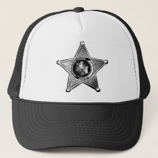 BADGE W HH LOGO TRUCKER HAT
