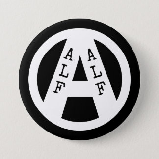 Badge with ALF symbol 3 Inch Round Button