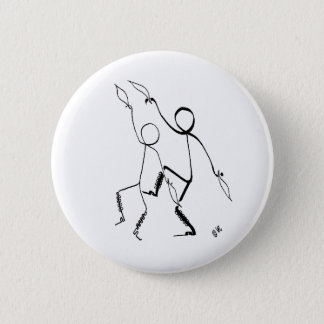 Badge with Morris dancers 2 Inch Round Button