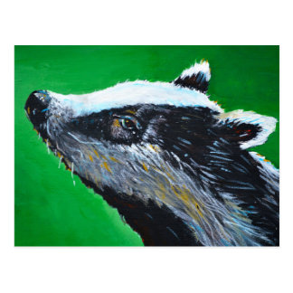 Badger Alert Postcard