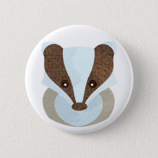 Badger Badge 2 Inch Round Button