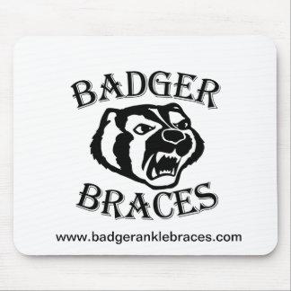 Badger Brace Mouse Pad