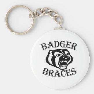 Badger Braces Key Chain