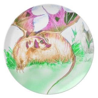 Badger Dragon Plate