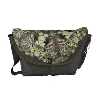 Badger on Primrose Bank Kaleidoscope Messenger Bag