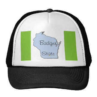 Badger State Cap _ Wisconsin Trucker Hat