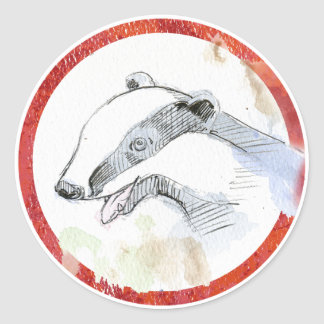 Badger Stickers