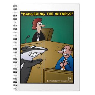 """Badgering The Witness"" Notebooks"