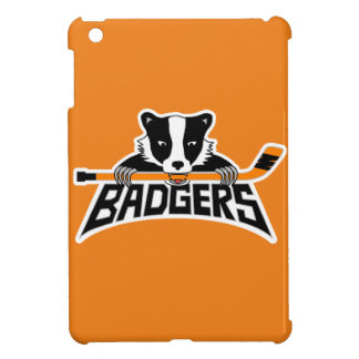 Badgers Hockey Logo Cover For The iPad Mini