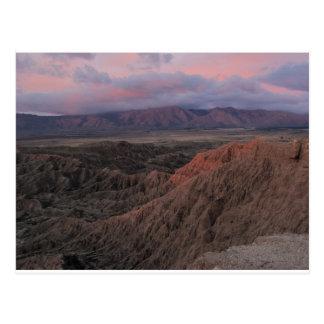 Badlands at Dawn Postcard