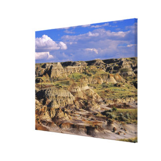 Badlands at Dinosaur Provincial Park in Alberta, 2 Canvas Print