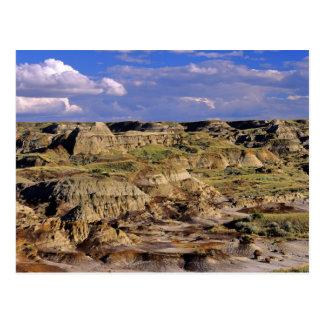 Badlands at Dinosaur Provincial Park in Alberta, 2 Postcard