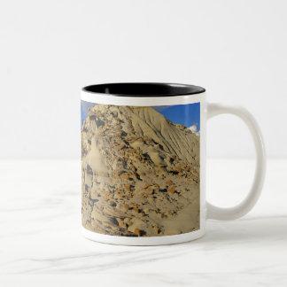 Badlands at Dinosaur Provincial Park in Alberta, 3 Two-Tone Coffee Mug