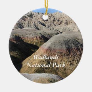 Badlands Ceramic Ornament