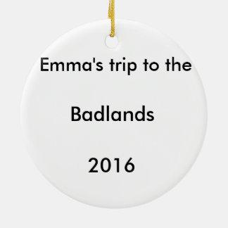 Badlands Christmas Tree Ornament