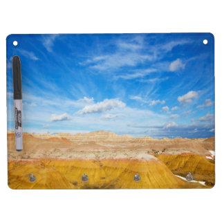 Badlands Dry Erase and Keychain Holder Dry Erase Whiteboard