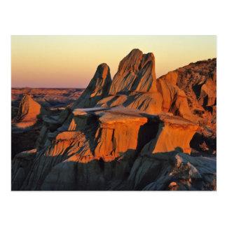 Badlands in Theodore Roosevelt National Park Postcard