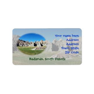 Badlands Label