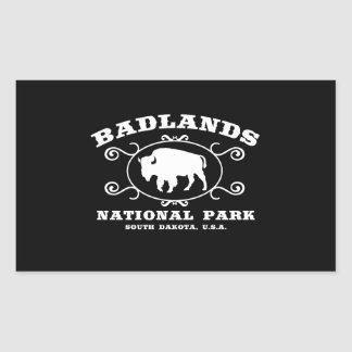 Badlands National Park Buffalo Sticker