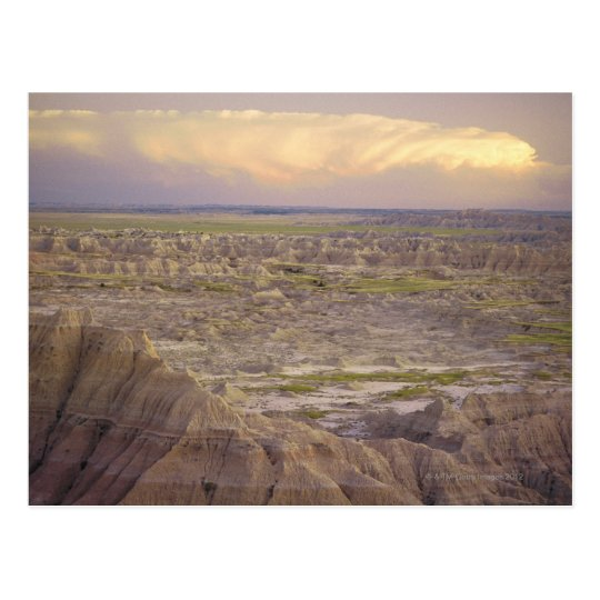 Badlands National Park in South Dakota Postcard