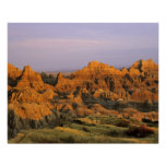 Badlands National Park in South Dakota Poster