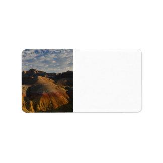 Badlands National Park Address Label