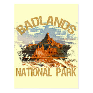 Badlands National Park Postcard