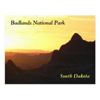 """""""Badlands National Park"""" Postcard"""