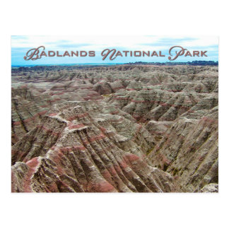 Badlands National Park, South Dakota Postcard